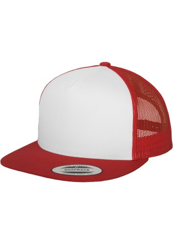 Classic Flex Hut (FLEXFIT - Classic Trucker (red/white/red) - Snapback)