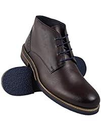 Zerimar Botas Hombre | Botines Hombre| Botas Hombre Altas Cuero| Botas Hombre Altas Piel | Botines Hombre Altos| Zapatos…