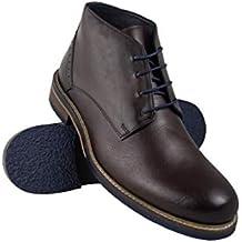 49a9ebf44422 Zerimar Stiefel Herren Leder   Klassische Stiefelette Herren   Boots Herren  Leder   Stiefel Elegant Herren