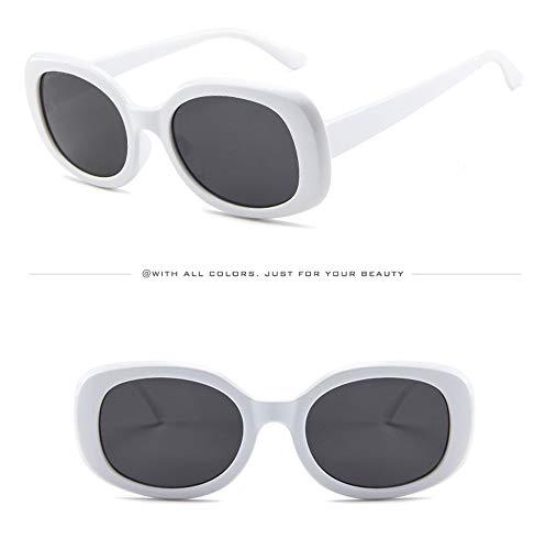 WUDUBE Street Wind-Sonnenbrillen, Brillen mit ovalen Rahmen kühlen die Persönlichkeit des Unisex ab
