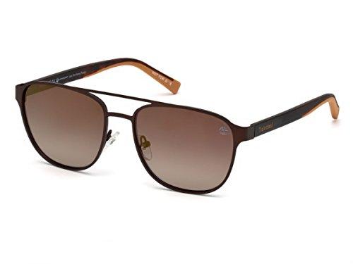 Timberland Unisex-Erwachsene Brillengestelle TB9146 49H 56, Braun Scuro Op\\Marrone Polar
