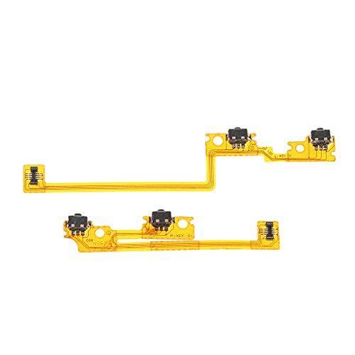 perfk Ersatz Schulter Trigger Taste L/R Flexkabel für Nintendo 3DS XL/LL Switch