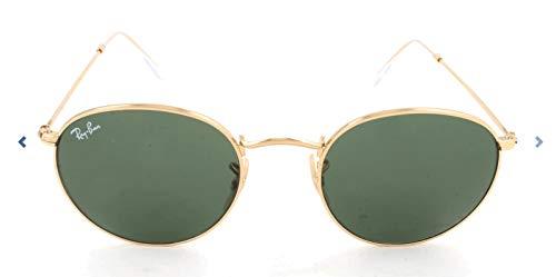 Ray-ban rb 3447 occhiali da sole, oro (gold), 50 mm unisex-adulto