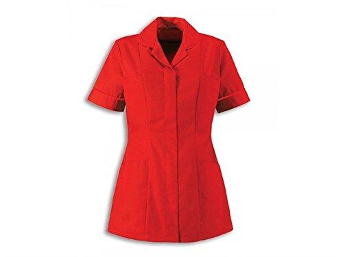 Alexandra traditionelle Damen Still Tuniken NHS Gesundheit Medical Care (18, rot/Red)