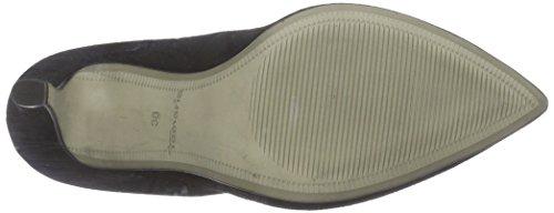 Tamaris  22432, Chaussures à talons - Avant du pieds couvert femmes Noir - Schwarz (Black Suede 004)