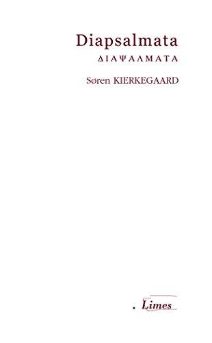 Diapsalmata (Limes) por Soren Kierkegaard