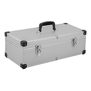anndora Aufbewahrungskiste Werkzeugkoffer 55,5x26x20,5 cm Transportbox geriffelt