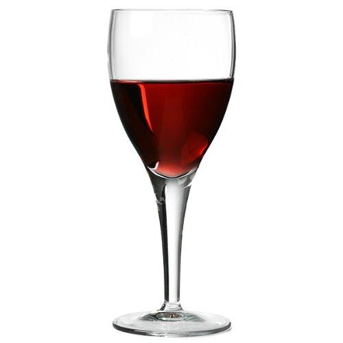 Michelangelo rot Weingläser 7.75oz/225ml–Set von 6| Luigi Bormioli Glaswaren, rot Wein Kelche, Michelangelo Weingläser