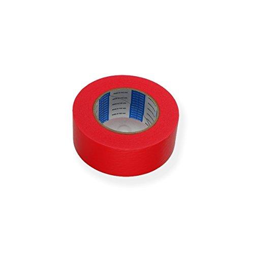 Créative Régie - Adhésif Permacel Papier Rouge Mat 50mm x 55m