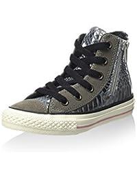 Converse All Star Hi Side Zip Leat/Sued - Zapatillas abotinadas Unisex Niños
