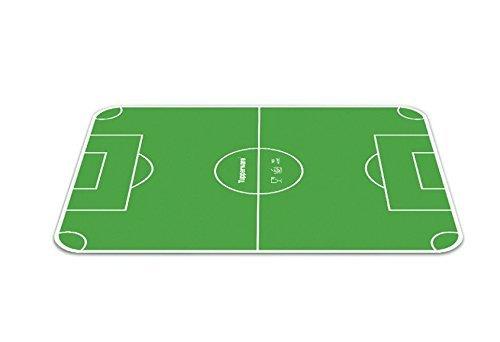Fußball-schneidebrett (TUPPERWARE Schneidebrett Grün Fußball Field)