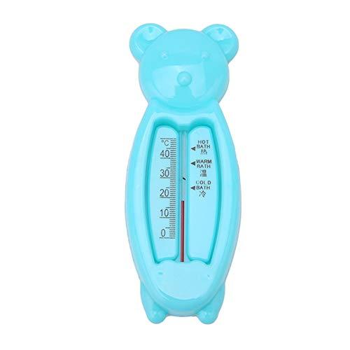dontdo Cartoon Bär-Form Temperatur Test Tool Baby Dusche Bad Wasser Thermometer, blau, Einheitsgröße