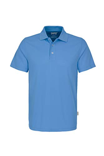 Hakro POLOSHIRT COOLMAX® # 806 (XL, malibu-blue) -