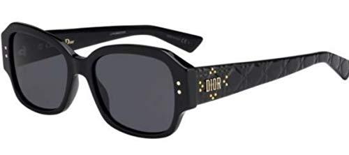Dior Sonnenbrillen Lady Studs 5 Black/Grey Damenbrillen