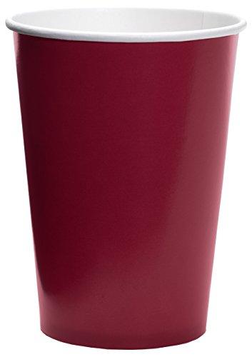 Bordeaux-kaffee-tisch-set (Kimono 1033Becher, Papier 10x5x10 cm bordeaux)
