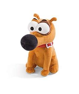 NICI 44233 Pat The Dog - Peluche Sentado (23 cm), Color marrón