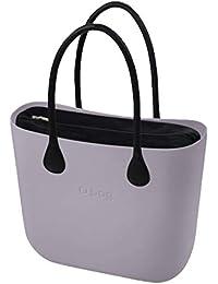 e8d10dc420 OBAG Borsa o bag grande lily grey sacca interna e manico lungo nero