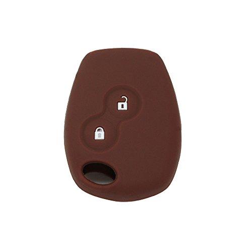 Fassport Caso de la cubierta del protector de silicona BROVACS chaqueta de la piel en forma marr/ón