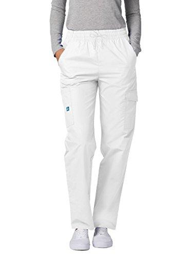 Medizinische Schrubb-hosen - Damen-Krankenhaus-Uniformhose 506 Farbe: WHT | Größe: M