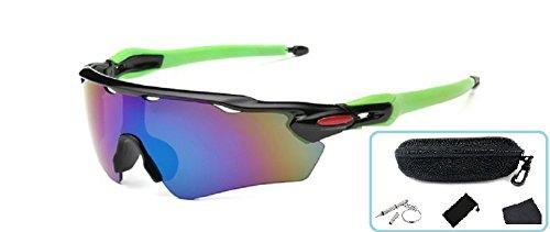 Embryform Unisex Polarisierte Sport-Sonnenbrillen für das Radfahren, (Günstigsten Kontaktlinsen)