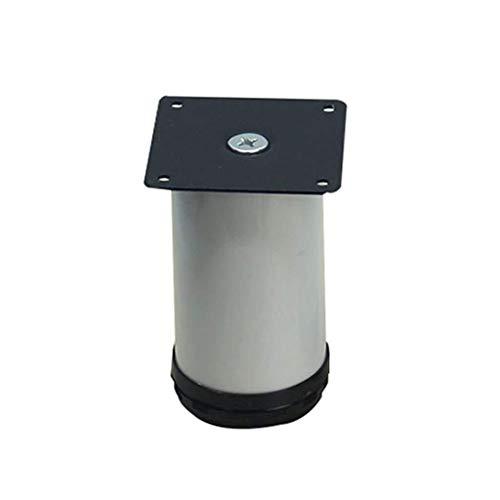 Möbel Beine verstellbar Aluminiumlegierung Schrank Bett Tisch Sofa Fuß Pad Couchtisch Beine Unterstützung Fuß Tischbein Klammern Bein Extender 4 Stk (Size : 13.5cm) -
