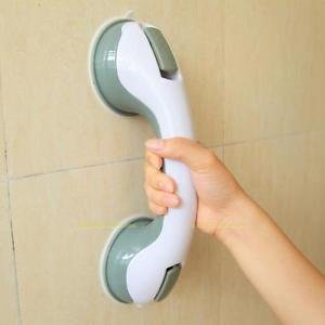 MG Universal Super Grip Suction Cup Handrail Bath Tub Bathroom Shower Grab Bar Safety Handle - Bath Grab Bar