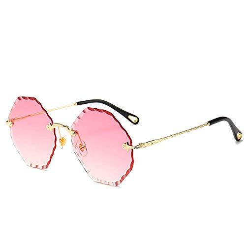LHZHG Sonnenbrille, Fashion Damen Sonnenbrille achteckiger Typ am besten für Angeln Golf Outdoor-Reisemöglichkeiten UV400 (Color : 5)