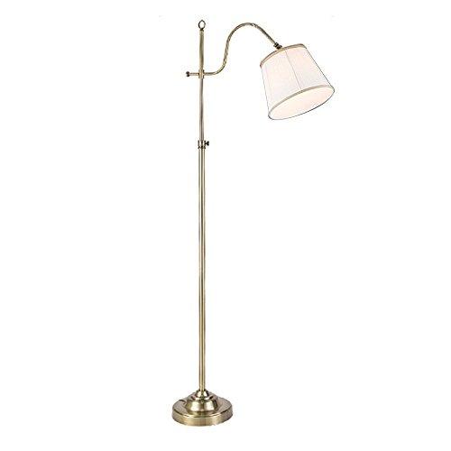 GBT Eisen Stehlampe Retro kreative europäischen - Stil Nachahmung von Kupfer Stehlampe Schlafzimmer Wohnzimmer Studie Stehlampe Indoor Floolr Lampe -