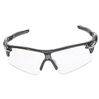 A-SZCXTOP UV 400 Outdoor Sport Brille Polarisiert Sonnenbrille Radbrille mit Radfahren Laufen Angeln Baseball mit Fischerei Fahren Fahrrad Wind-proof Goggles Sunglasses