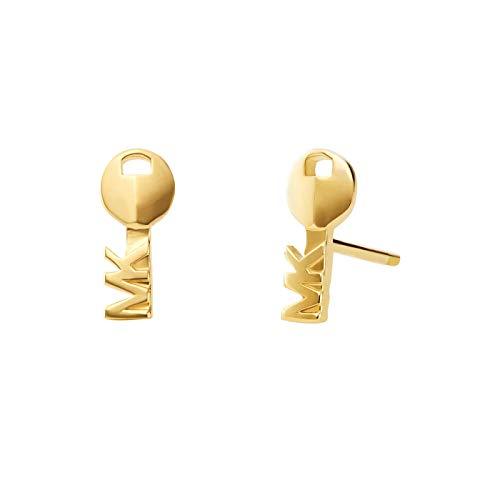 Michael Kors Damen-Ohrstecker 925er Silber One Size Gold 32001121