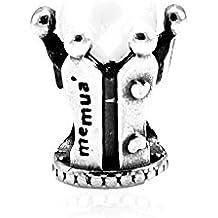 Memuà FW13 MIA REGINA, ciondolo in argento 925, Corona della Regina con Perla