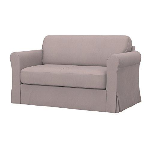 Soferia - IKEA HAGALUND Funda para sofá Cama, Eco Leather Taupe