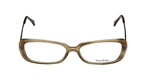 Vera Wang Damen Brillengestell Gr. 52, braun
