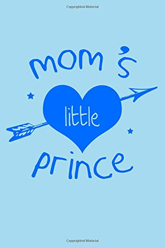 (Mom's little Prince: 100 graph paper 5x5 Pages Large Big 6