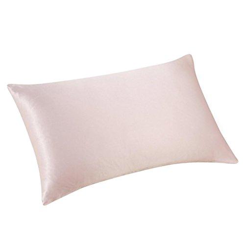 Hirolan 30cmx50cm Rechteck Seide Kissen Abdeckung Mehrfarbig Werfen Kissen Fall zum Ruhe, Spiel und Dekor (Rosa) -