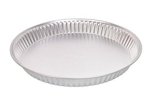 Dr. Oetker Obstkuchenform Ø30cm Classic, Backform für Obsttorten, Kuchenform aus Weißblech, Menge: 1 Stück