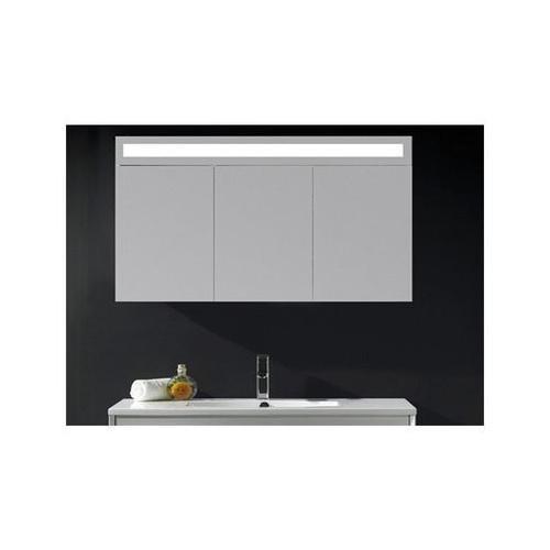 Badschrank mit Spiegel – 120 cm - 4