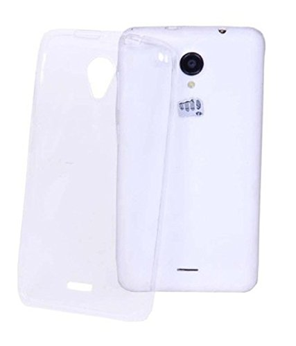 OFM Transparent Soft Back Case Cover for Micromax Canvas A1 Android One - Transparent  available at amazon for Rs.129