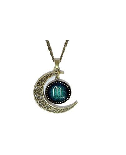 vintage-bronze-crescent-moon-scorpio-glass-cabochon-pendant-necklace