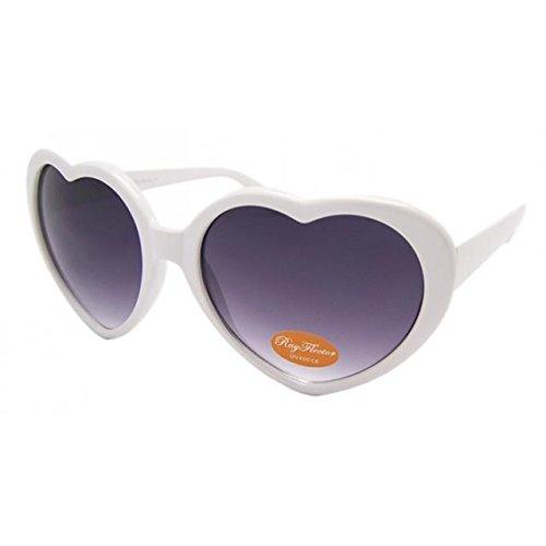 ASVP Shop® Fashion Cute Retro Love Heart Shape Lolita Sunglasses Fancy Dress Party H4