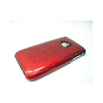 Cellular Coque de protection goutte d'eau pour iPhone Noir Rouge