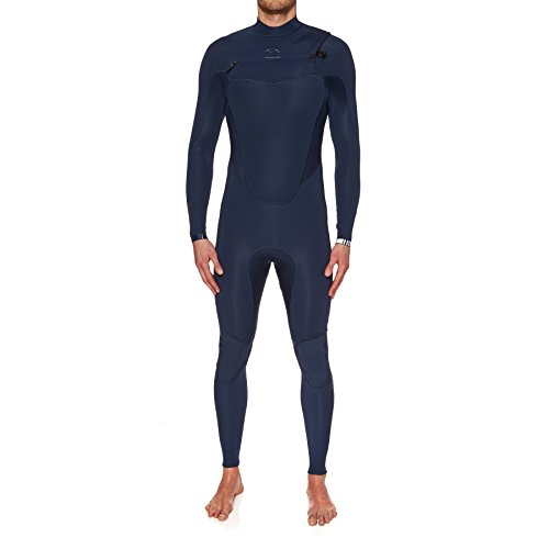 BILLABONG 2017 Absolute Comp 3/2mm Chest Zip Wetsuit Navy F43M21 Sizes- - ExtraLarge