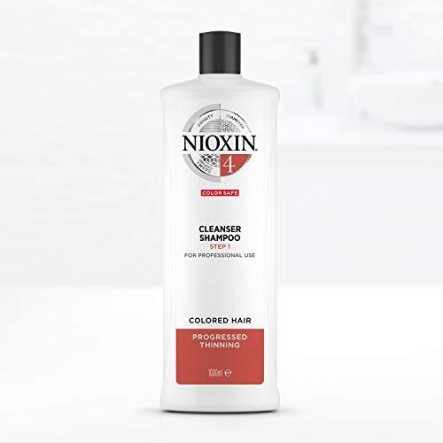 Nioxin Shampoo Sistema 4 per Capelli Colorati Assottigliati, Formato Convenienza - 1 L
