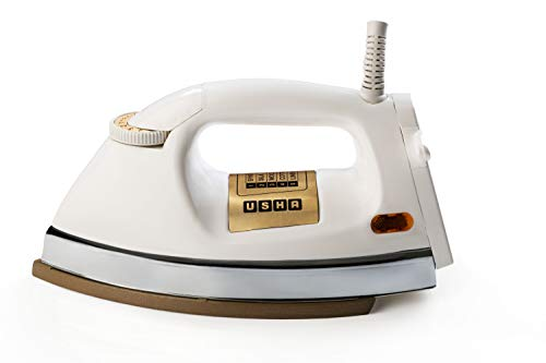 USHA EI 3710 1000-Watt Dry Iron (White)