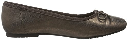 Tamaris Women 22108 Ballerine Chiuse Multicolore (bronce Struct. 975)