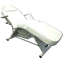 Marco de pedicura salón de belleza silla–* * * * Resistente * * * *-Equilibrio adhesivo de masaje facial sofá cama mesa bandeja de sofá (2, color blanco)