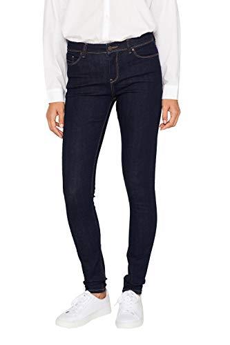 ESPRIT Damen 089Ee1B012 Skinny Jeans, Blau (Blue Rinse 900), W26/L30 (Herstellergröße: 26/30) -