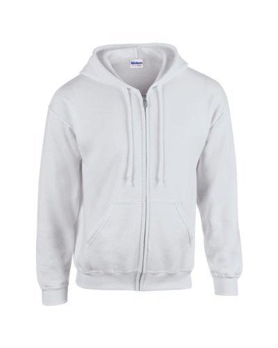 MAKZ GILDAN Heavy Blend Full Zip Hoodie Hooded Sweatshirt