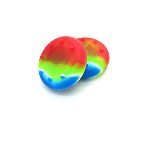 2x Rainbow Controller Analog Thumbstick Grip Abdeckkappen für Sony PS3PS4Xbox One 360WII U - Zu Playstation 4 Verkaufen