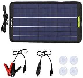 Eco Worthy 12 Volt 5 Watt 10 Watt Portable Solar Panel Elektronik